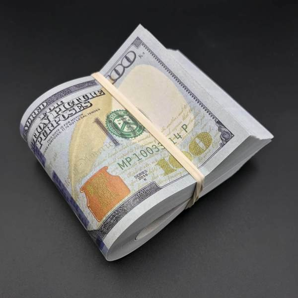 Free Printable Money Bands New Realistic Prop Money Full Print Fat Bands