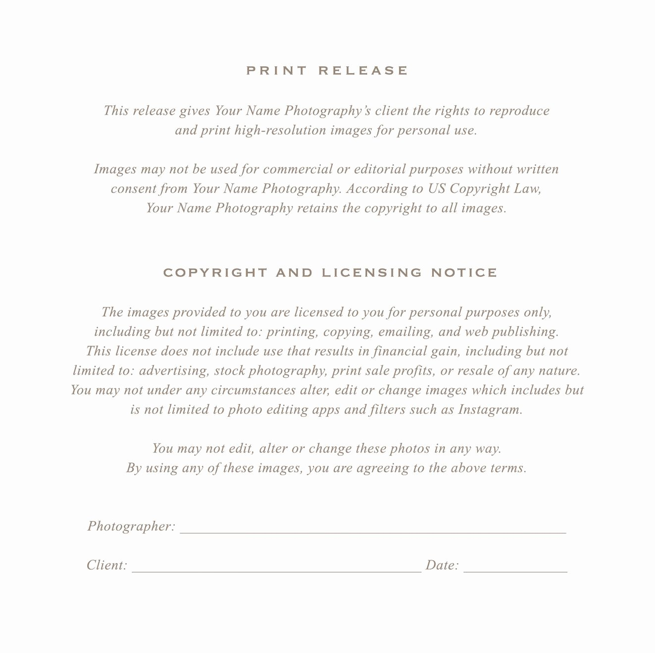 Free Printable Print Release form Elegant Grapher Print Release form by