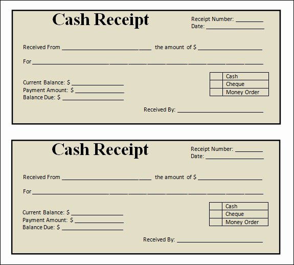photo regarding Printable Sales Receipt identified as Cost-free Printable Revenue Receipt Amazing Blank Receipt Template