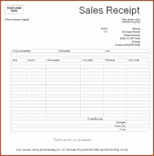 Free Printable Sales Receipt Best Of 8 Printable Receipts Bookletemplate