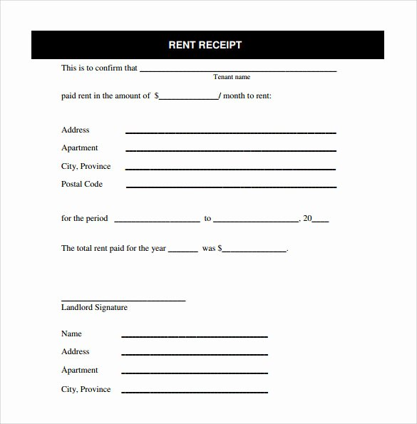 Free Rent Receipt Template Word Lovely Rent Receipt Template 13 Download Free Documents In Pdf
