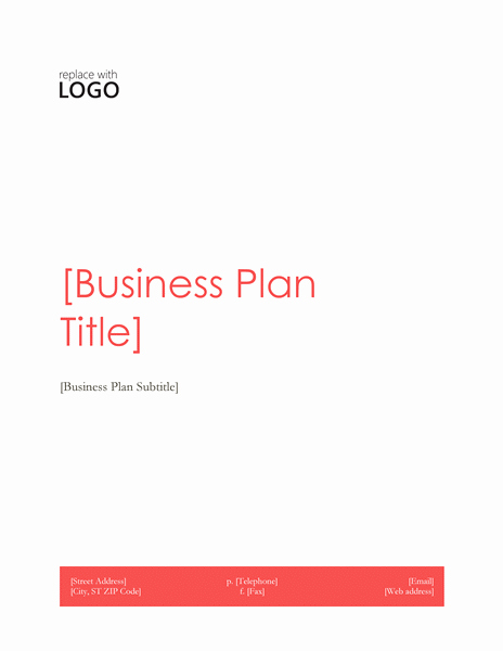 Free Restaurant Business Plan Template Beautiful Business Plan