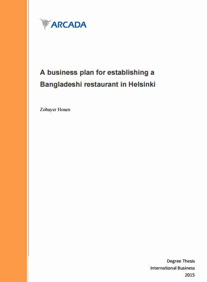 Free Restaurant Business Plan Template Elegant 32 Free Restaurant Business Plan Templates In Word Excel Pdf