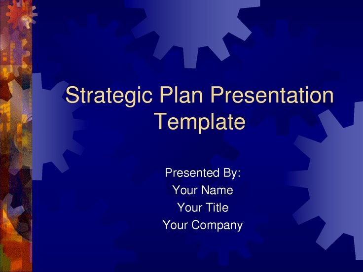 Free Strategic Plan Template Luxury Strategic Plan Powerpoint Templates Business Plan