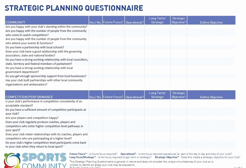 Free Strategic Plan Template Unique 18 Free Plan Templates Excel Pdf formats