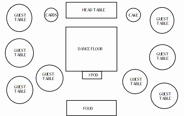 Free Wedding Floor Plan Template Elegant Wedding Reception Floor Plan Frompo