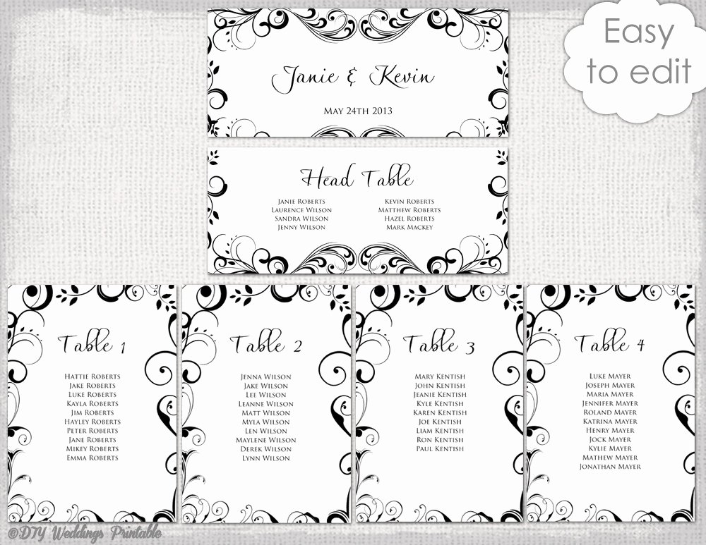 Free Wedding Floor Plan Template Elegant Wedding Seating Chart Template Microsoft Word