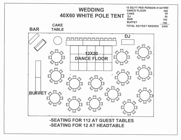 Free Wedding Floor Plan Template Lovely Just for A Seating Plan Layout Visual Wedding 40x60 White