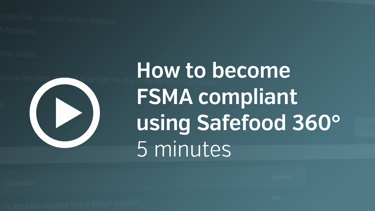 Fsma Food Safety Plan Template Best Of Fsma software for the forward Thinking Food Pany