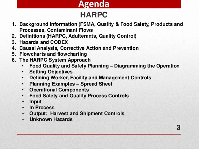 Fsma Food Safety Plan Template Inspirational Harpc to Pin On Pinterest Pinsdaddy