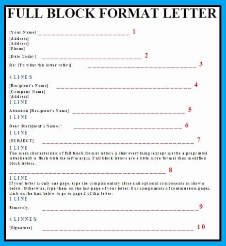 Full Block Business Letter format Inspirational Muhammad Afif Ibrahim September 2016