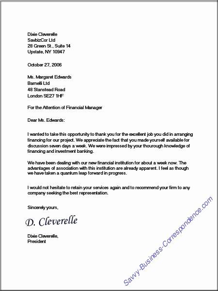 Full Block Business Letter format New Dixie S Full Block Business Letter