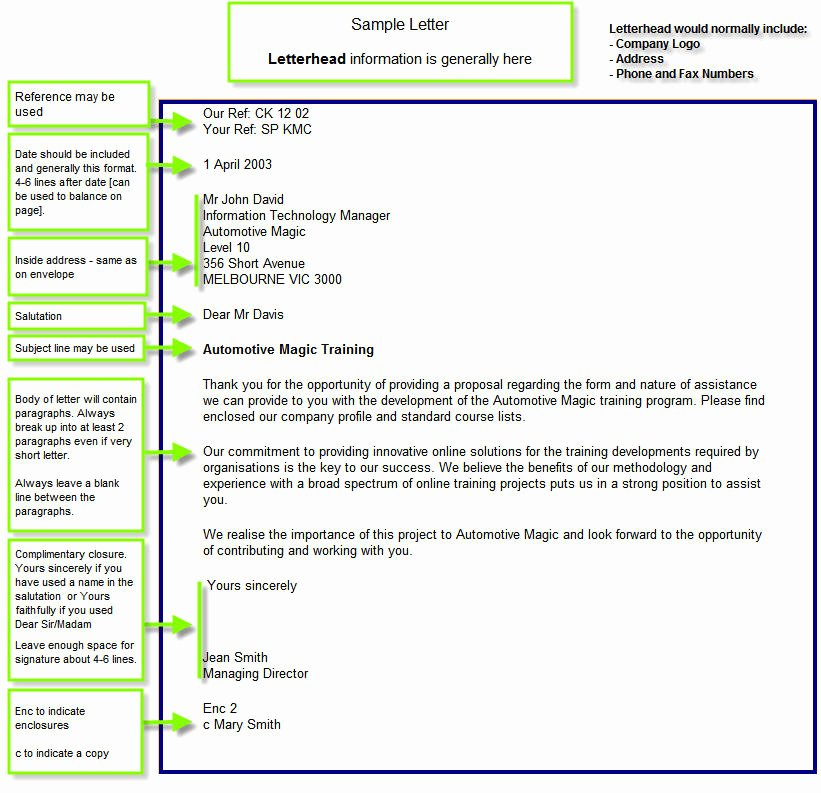 Full Block Letter format Best Of Full Block Style Sample Application Letter Business