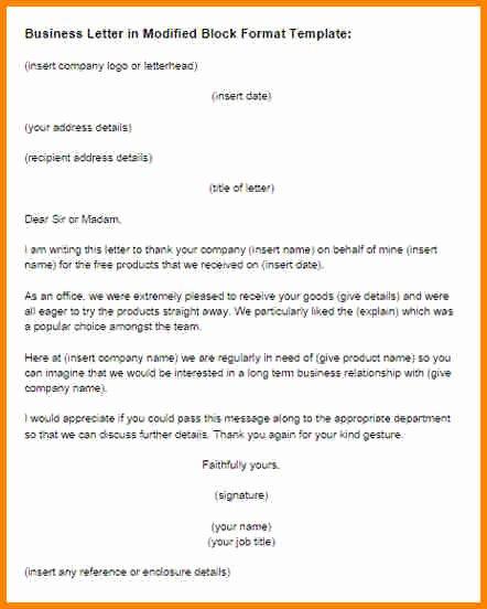 Full Block Letter format Elegant 8 Example Of Full Block Style Of Business Letter