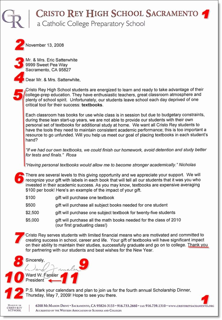 Fundraiser Proposal Letter Best Of 10 Best Donation Letters Images On Pinterest
