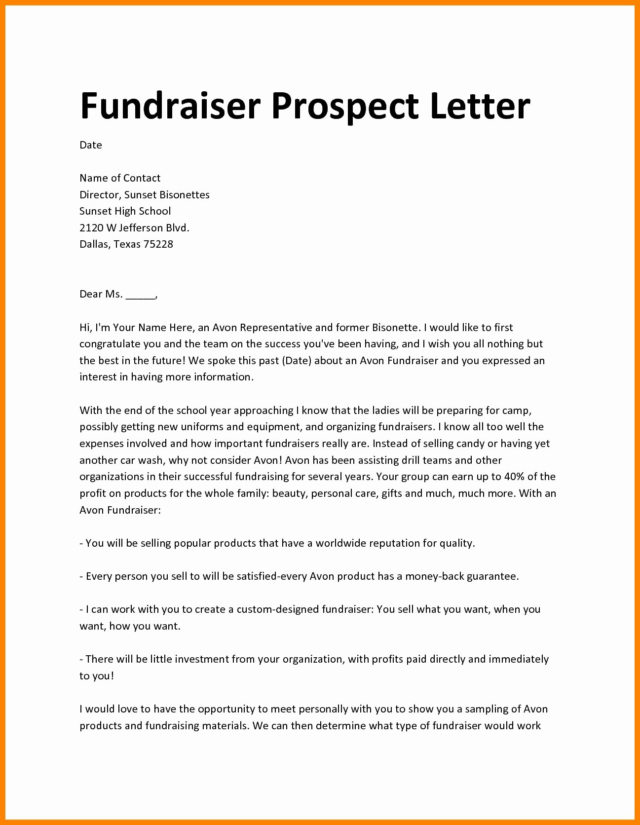 Fundraiser Proposal Letter Luxury Fundraiser Proposal Template Pics – Fundraising Proposal