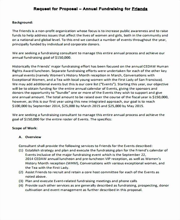 Fundraiser Proposal Letter Unique Fundraising Sample Sport event Sponsorship Proposal