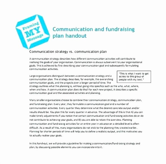 Fundraising Plan Template Excel Awesome Fundraising Template – Thalmus