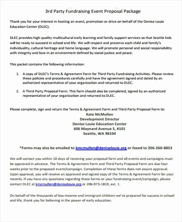 Fundraising Plan Template Free Elegant 11 Fundraising event Proposal Templates Word Pdf