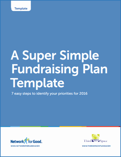 Fundraising Plan Template Free Elegant Network for Good