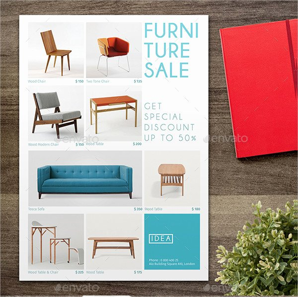 Furniture Templates Free Download Lovely 21 Furniture Flyer Templates Psd Ai Eps format Download