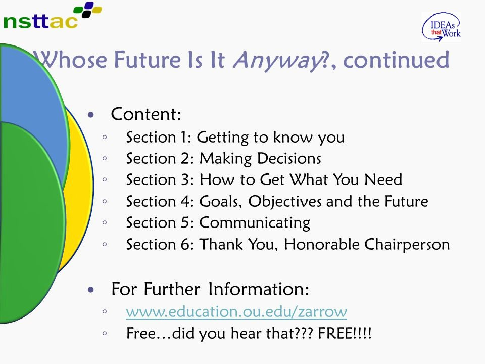Future How It Feel Download Best Of Teaching Self Determination Skills to Students with