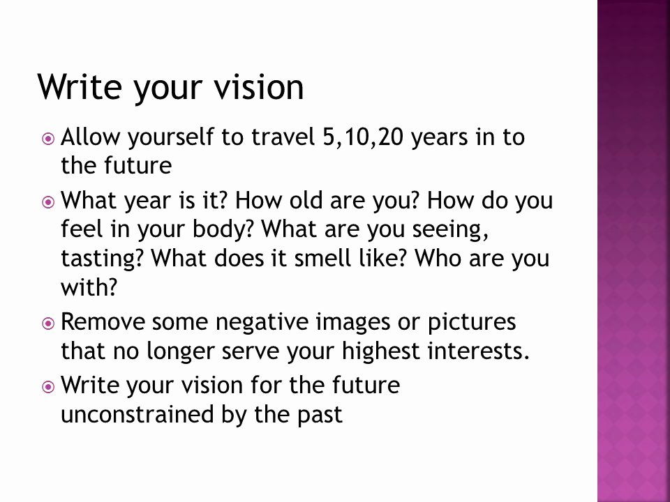 Future How It Feel Download Fresh Author Your Life with A Goal Setting Ppt Video Online