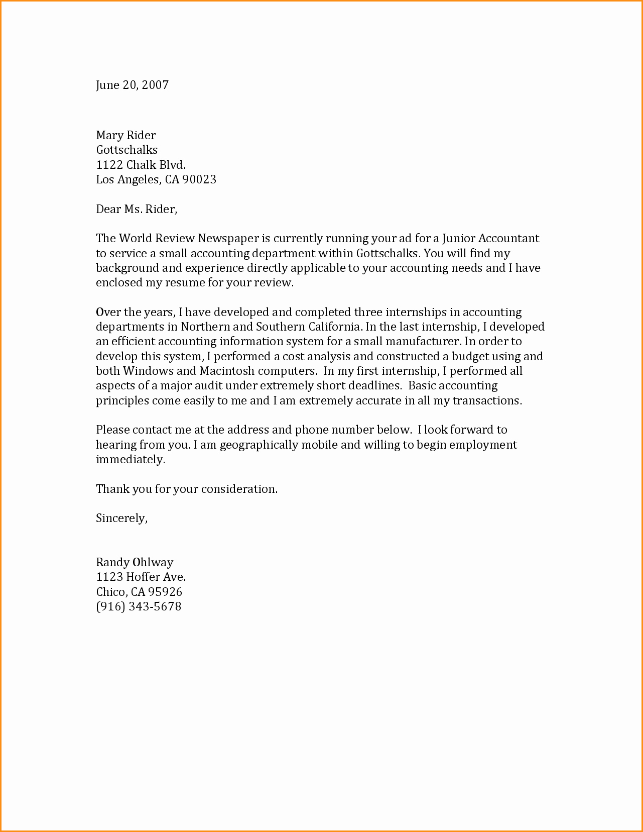 General Cover Letter format Luxury Cover Letter for Resume Template General Sample General