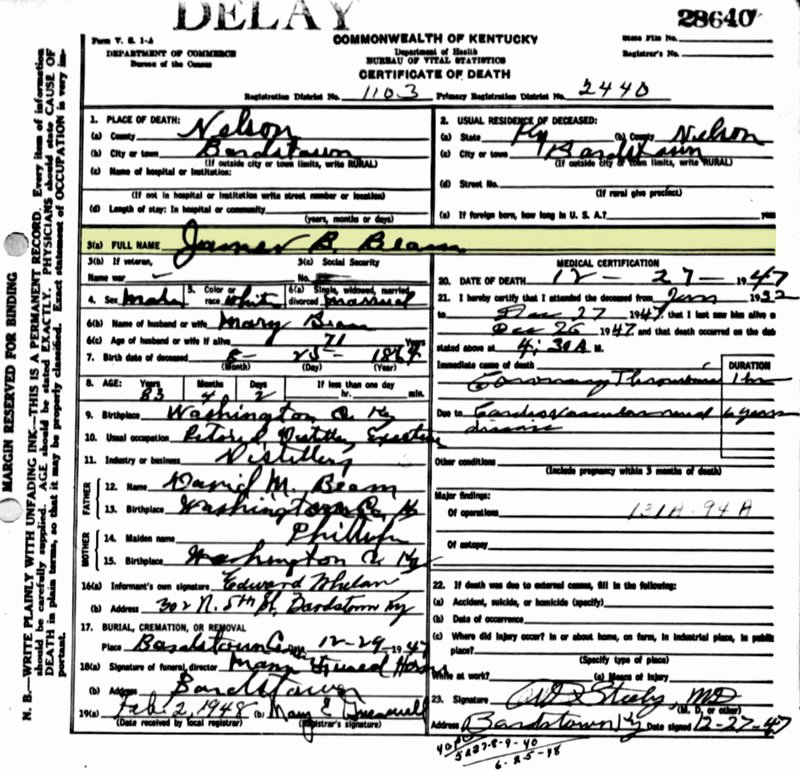Georgia Death Certificate Template Awesome ordering Kentucky Death Certificates