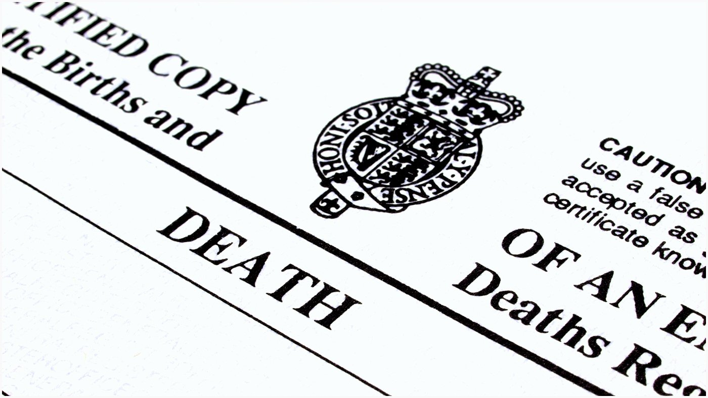 Georgia Death Certificate Template Inspirational 7 Blank Death Certificate Template