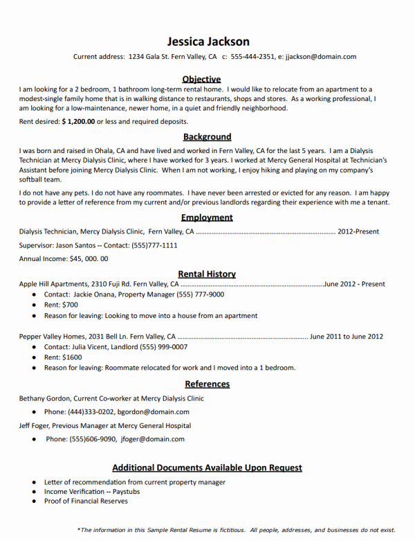 Georgia Tech Recommendation Letter Beautiful How to Create the Perfect Rental Resume