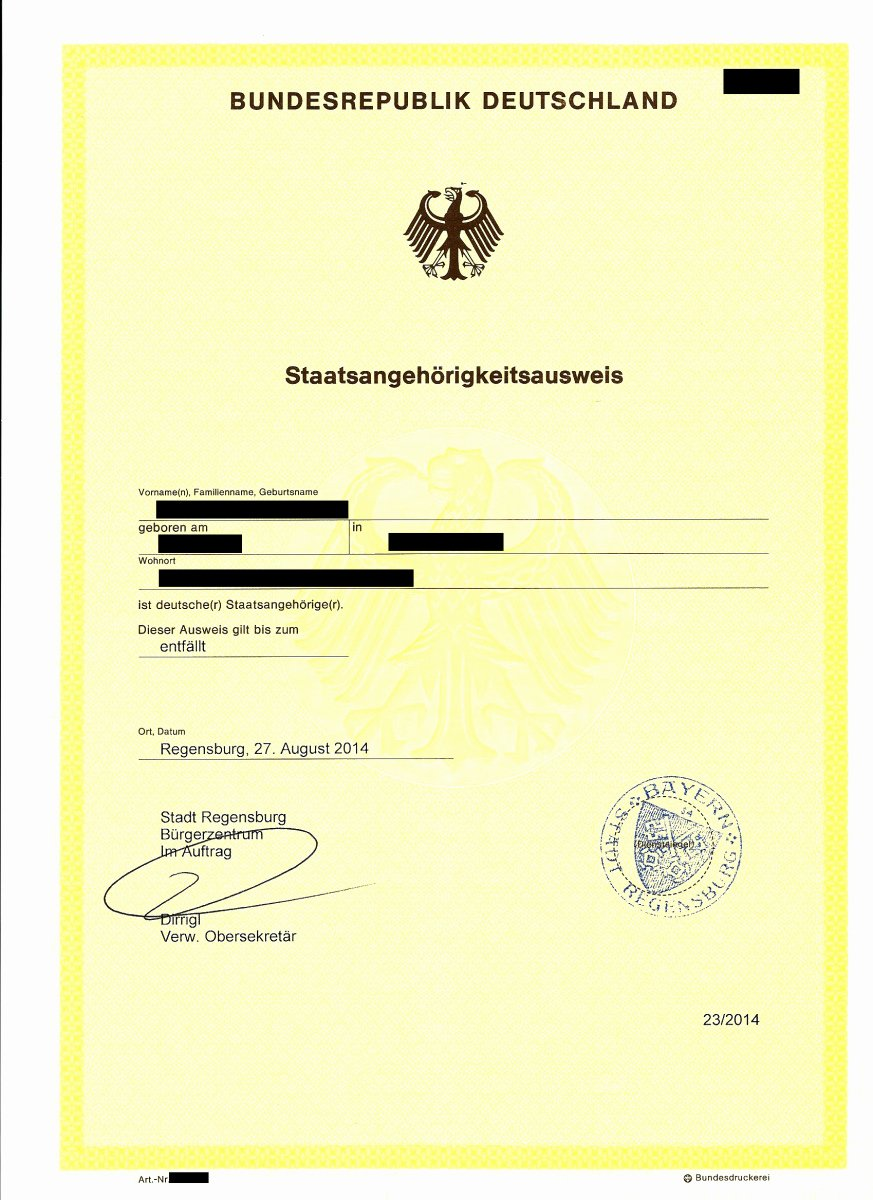 German Birth Certificate Template Best Of Requirements for Applying for the German Citizenship
