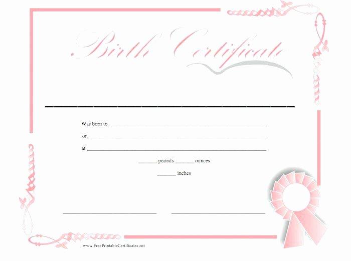 German Birth Certificate Template Elegant Birth Certificate Templates Condo Financials