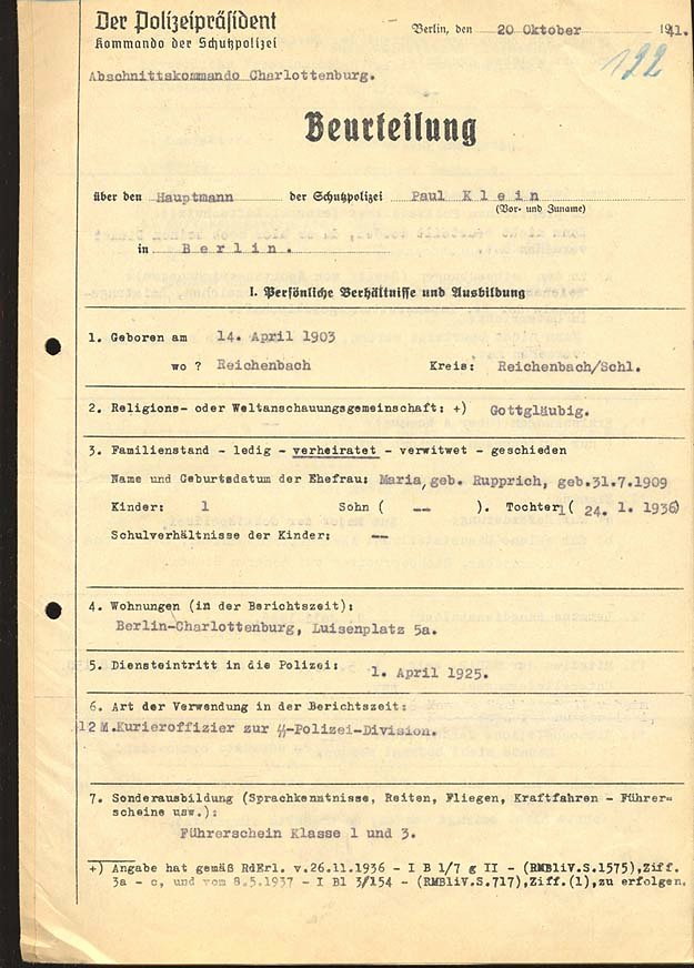 German Birth Certificate Template Elegant Nazi Documents