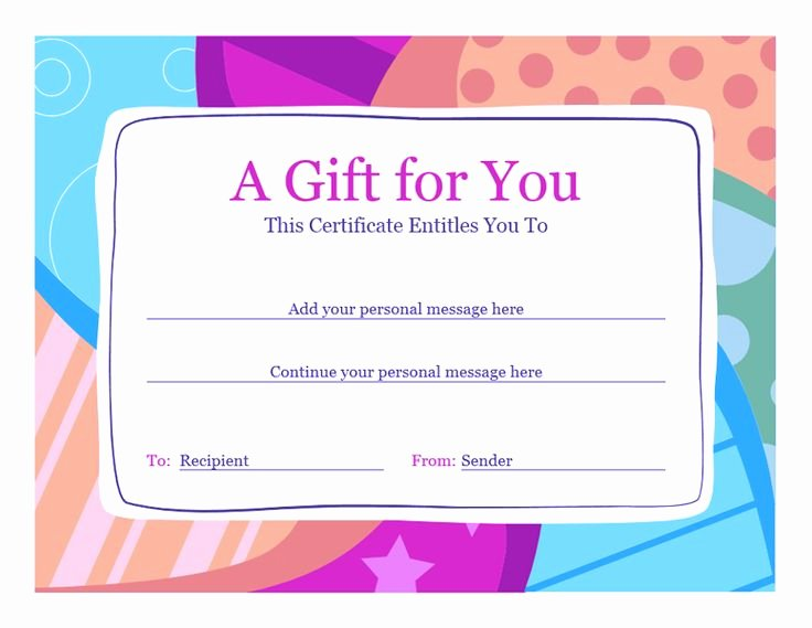 Gift Certificate Wording Lovely Best 25 Gift Certificate Template Word Ideas On Pinterest