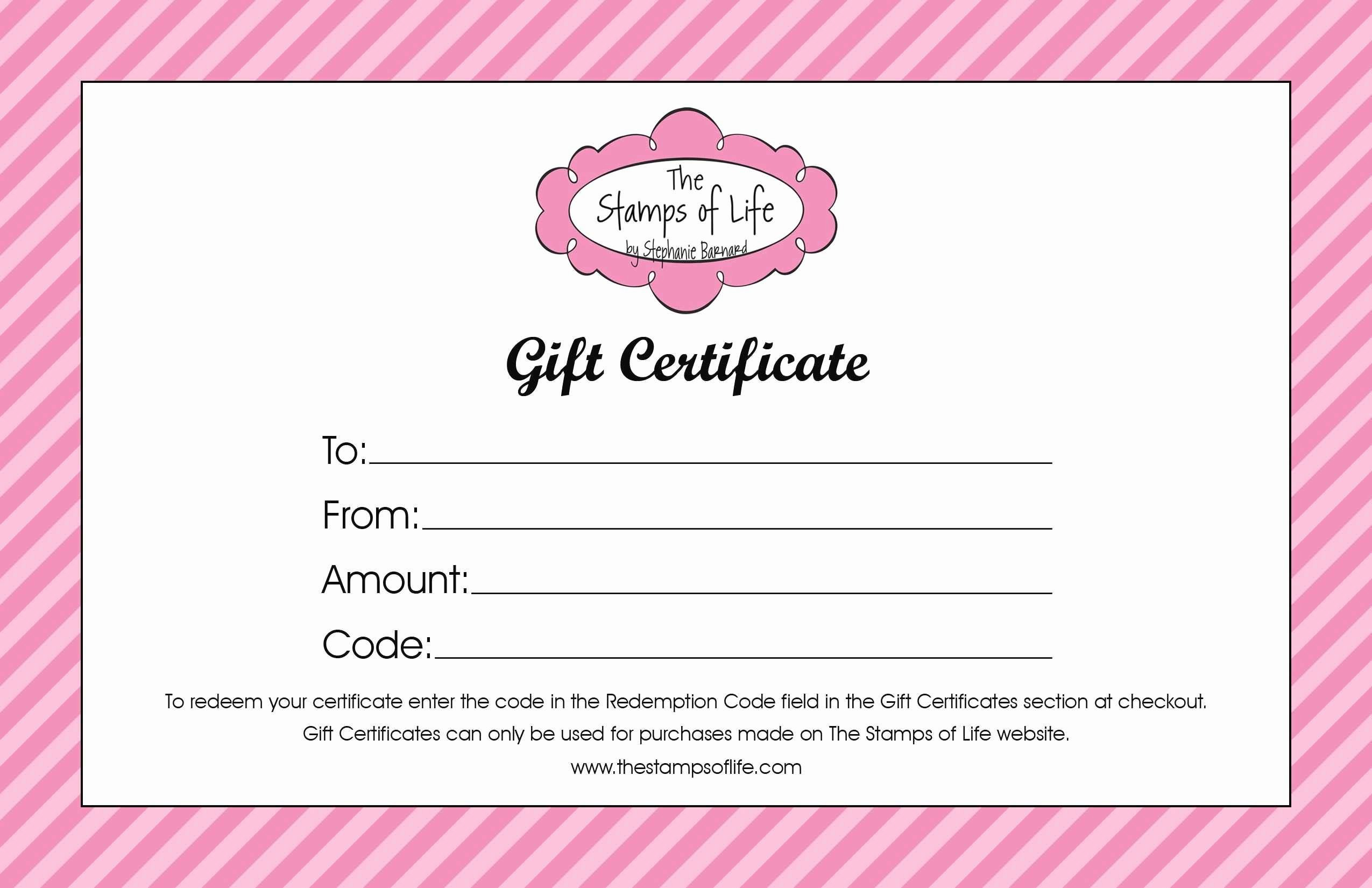 Gift Certificate Wording Unique Best Printable Restaurant Gift Certificate Template