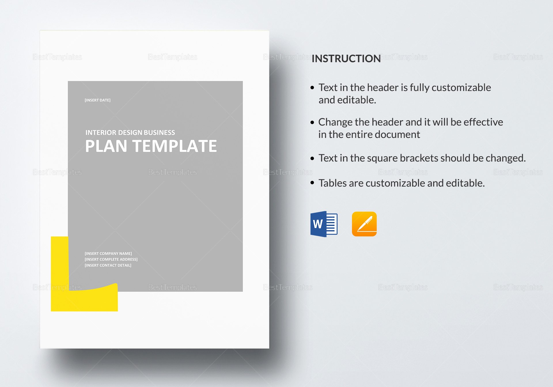 Google Business Plan Template Best Of Interior Design Business Plan Template In Word Google