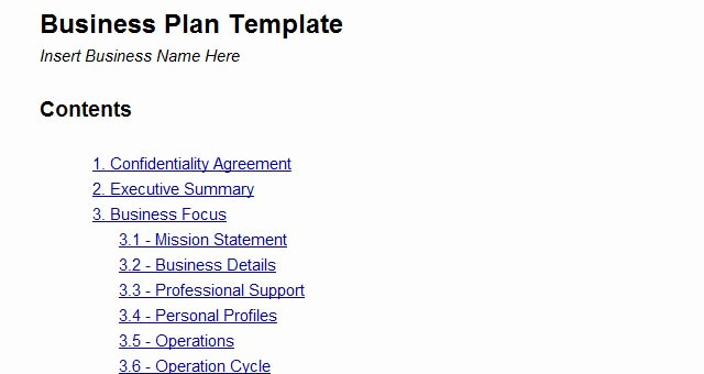 Google Business Plan Template Inspirational Business Plan Template Google Docs