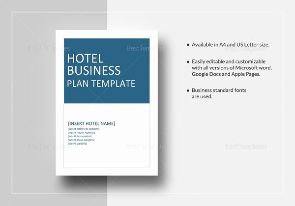 Google Doc Business Plan Template Best Of 16 Hotel Business Plan Templates Pdf Google Docs Ms