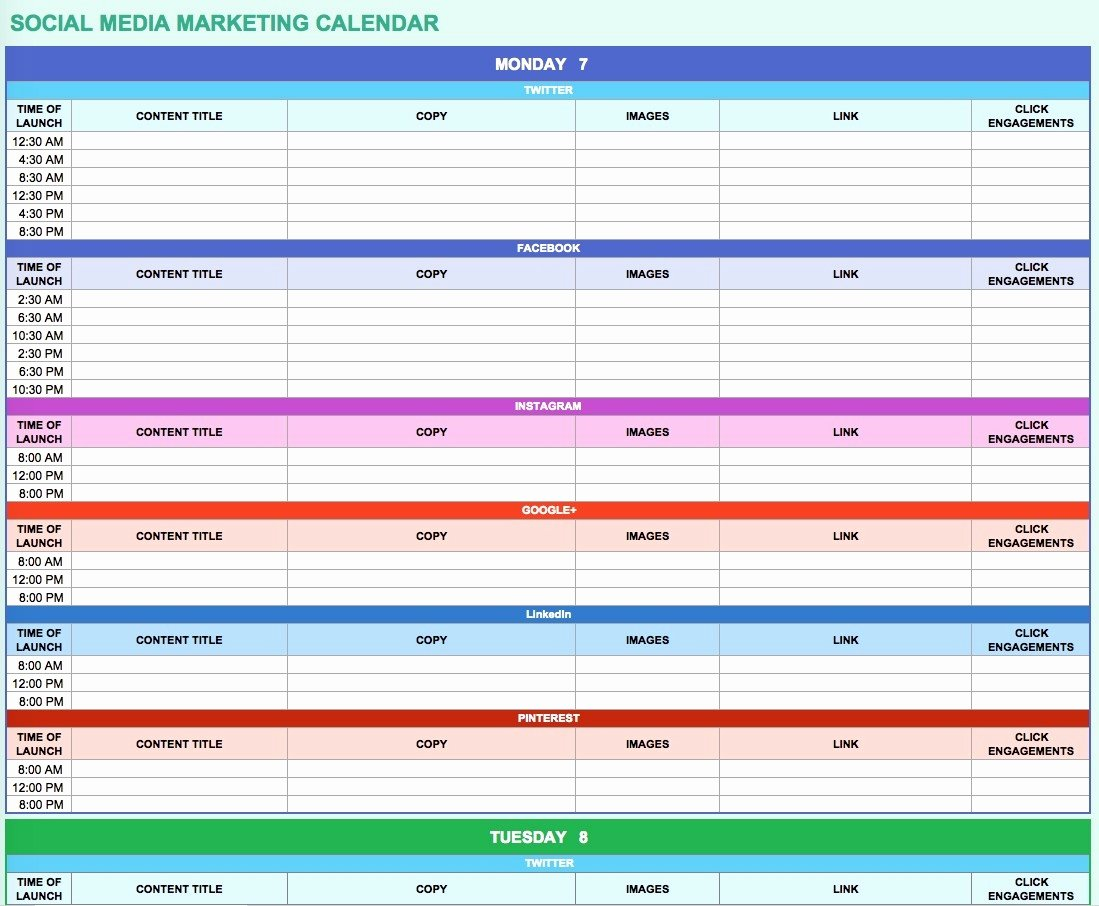 Google Doc Business Plan Template Elegant Google Doc Calendar Template 2018