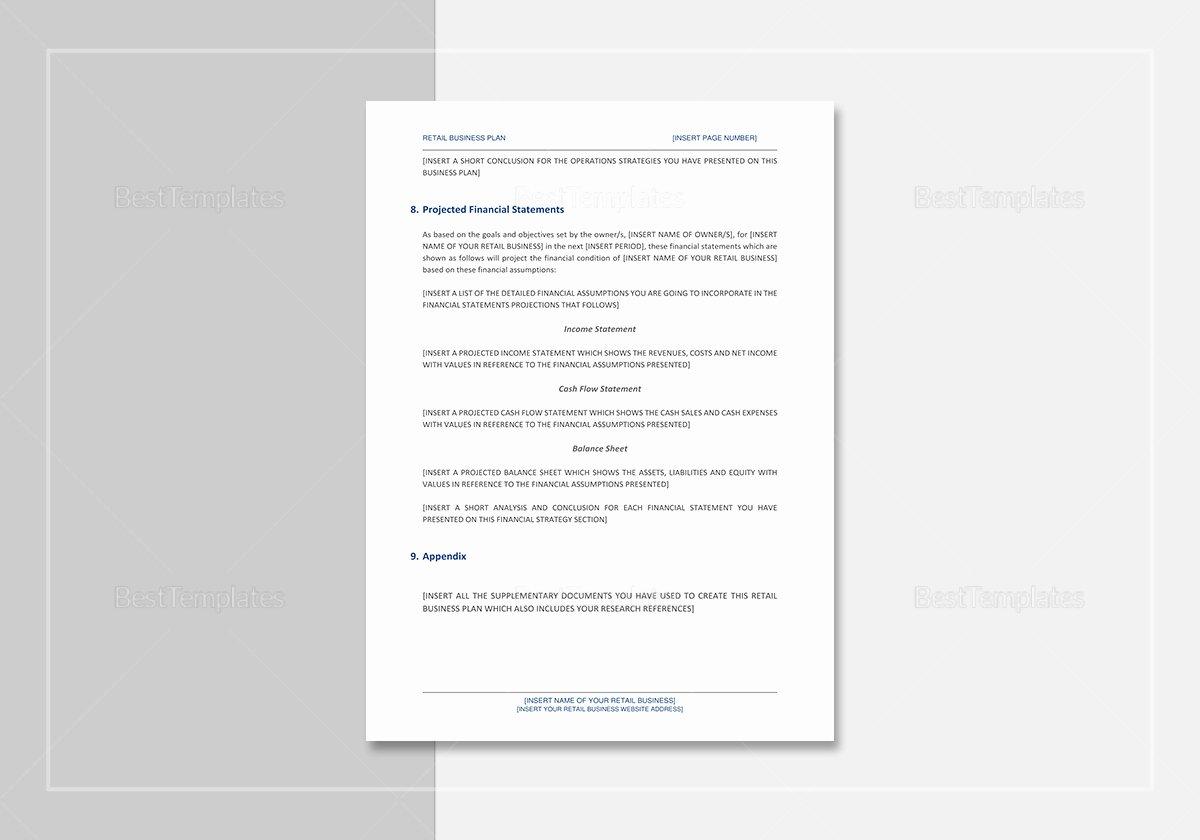 Google Doc Business Plan Template Elegant Retail Business Plan Template In Word Google Docs Apple