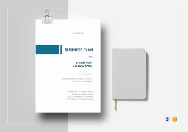 Google Doc Business Plan Template Unique 9 Sample Sba Business Plan Templates