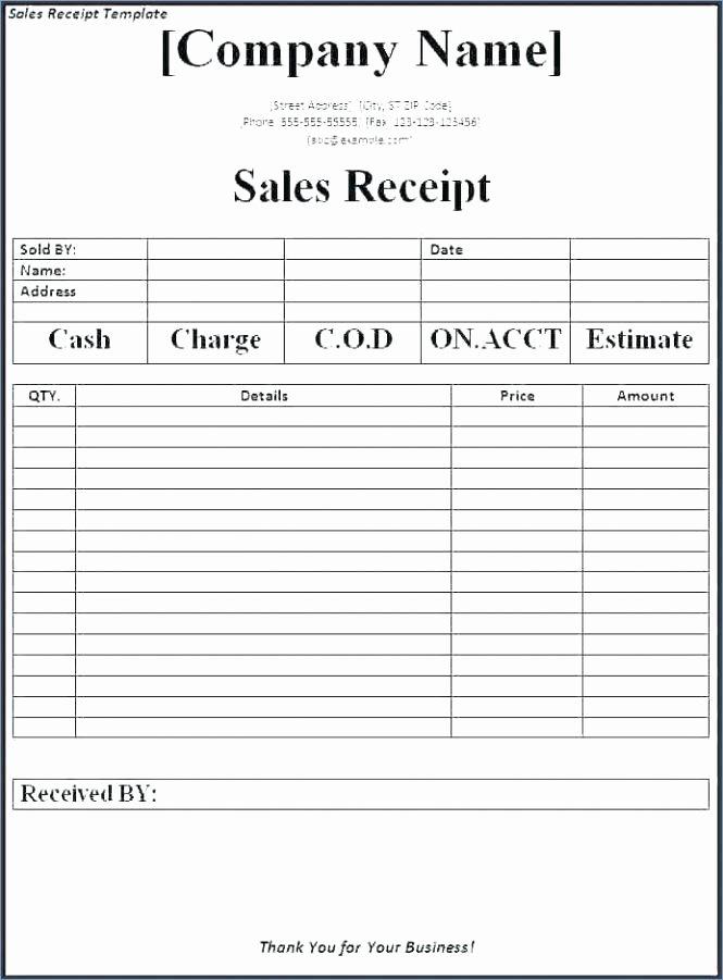 Google Doc Receipt Template Elegant Google Invoice Template Free Docs Service form Receipt