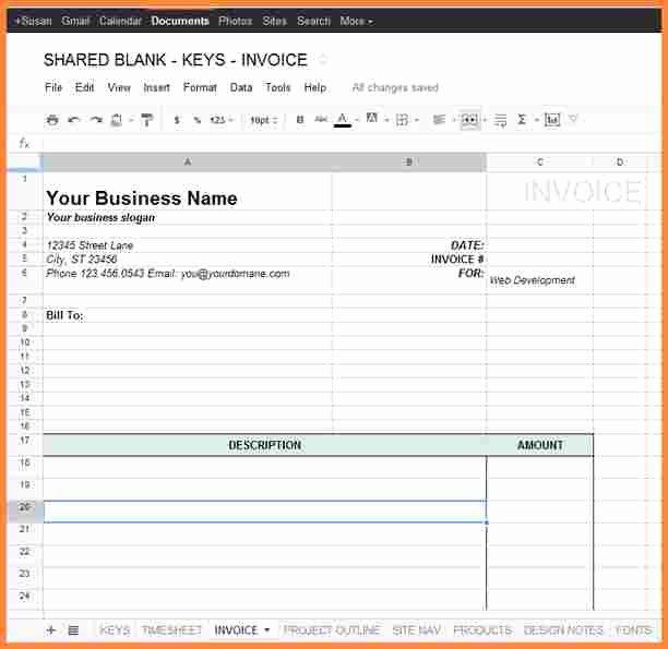 Google Docs Bill Of Sale Inspirational 9 Google Docs Bill Template