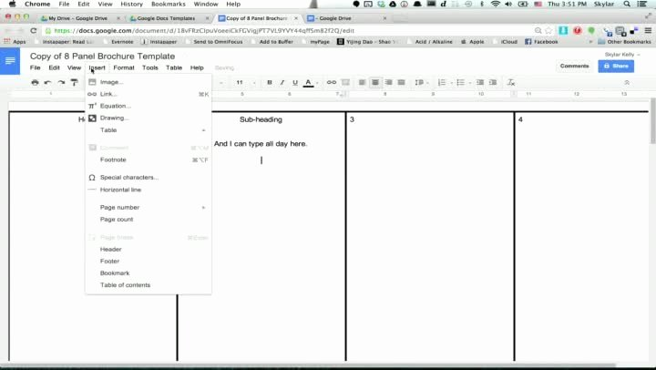 Google Docs Business Plan Template Elegant Brochure Templates for Google Docs Professional Samples
