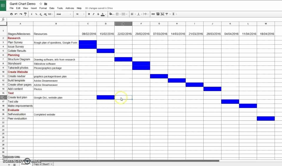 Google Docs Business Plan Template Elegant Google Sheets Gantt Chart Template