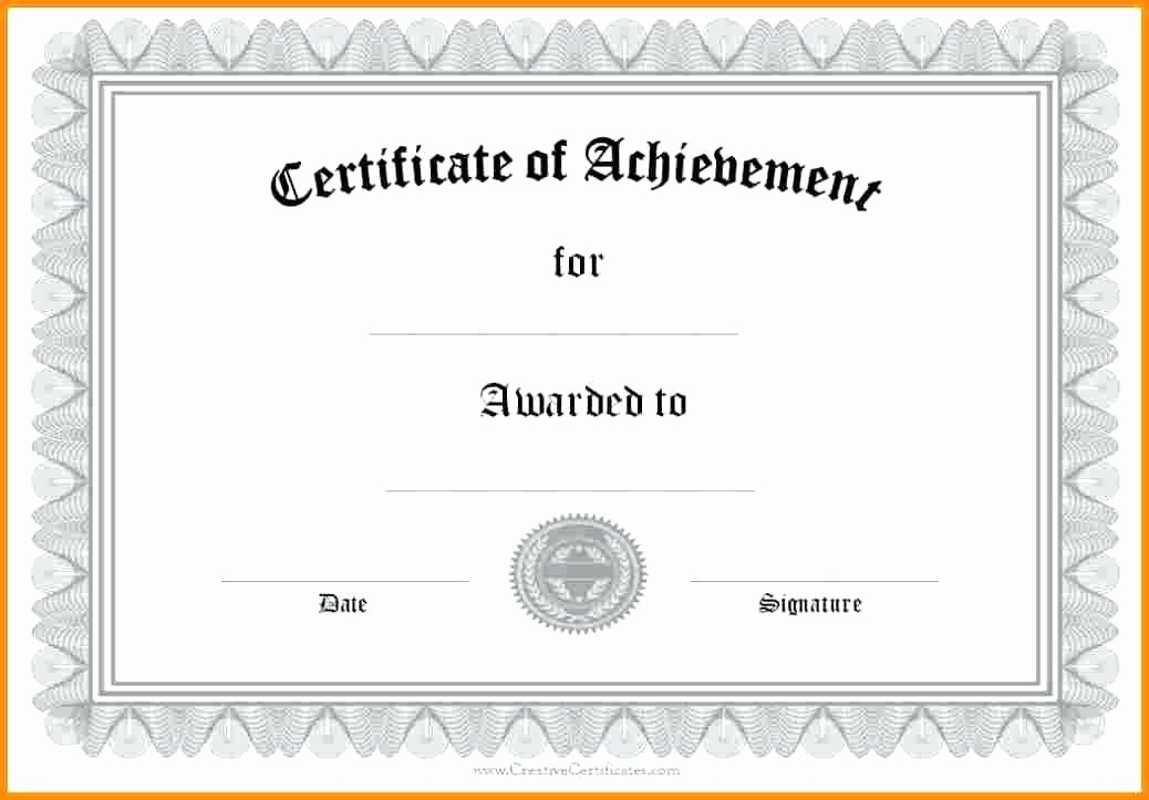Google Docs Certificate Of Appreciation Beautiful 9 Scholarship Certificate Templates Free Word format