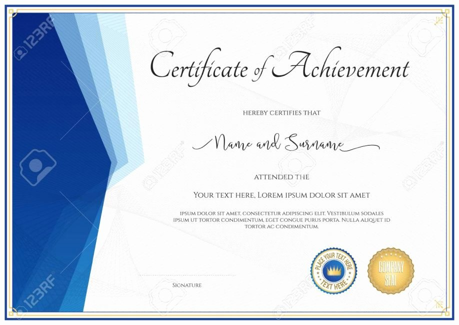 Google Docs Certificate Of Appreciation Beautiful Unique Certificate Ac Plishment Template Resume