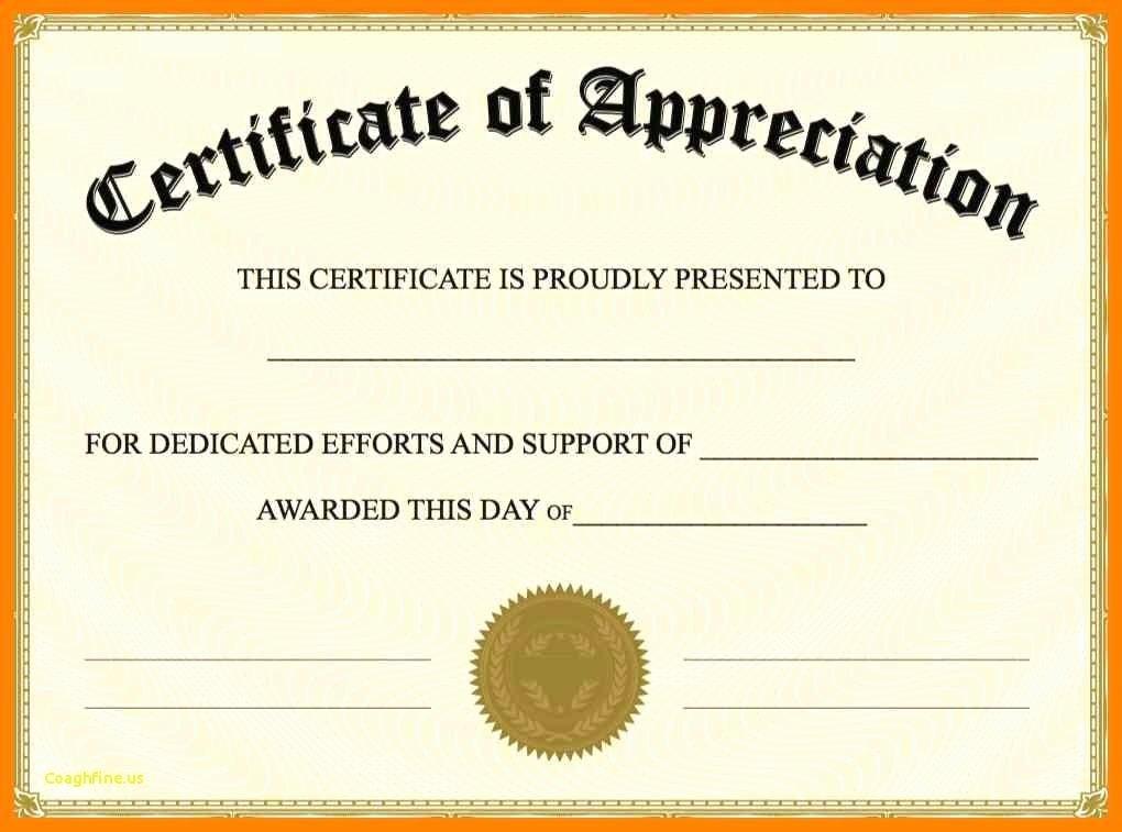 Google Docs Certificate Of Appreciation Elegant Google Doc Certificate Template Professional Template