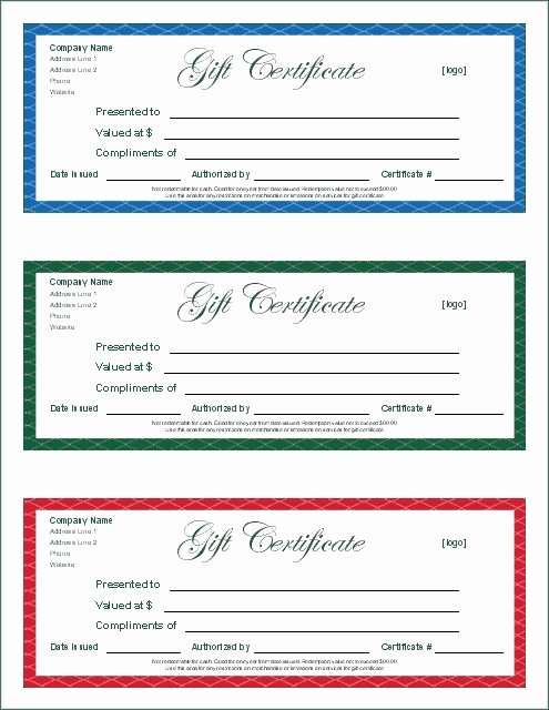Google Docs Certificate Of Appreciation Inspirational Gift Certificate Template Google Docs